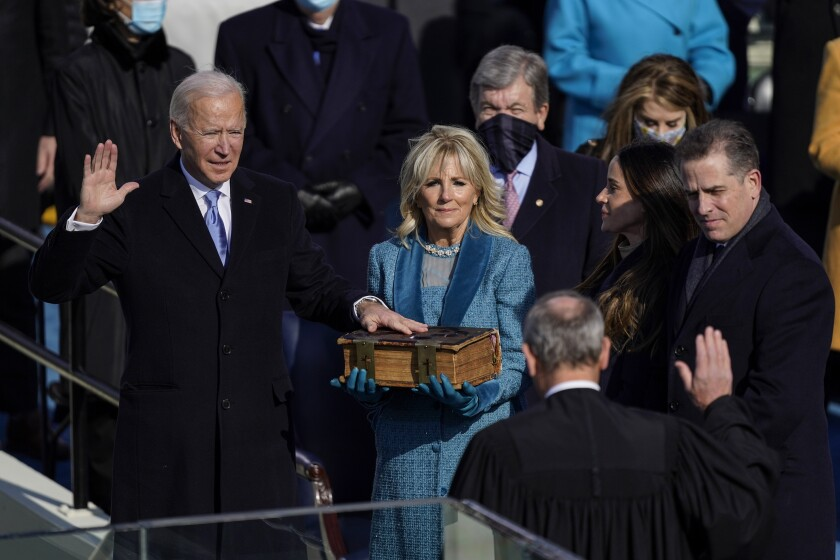 3 SCOTUS justices skip Biden inauguration with COVID concerns - Los Angeles  Times