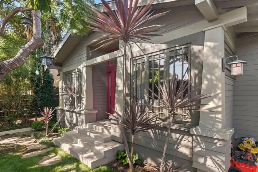 Elijah Wood's Venice bungalows