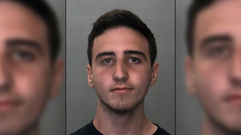 Jacob Alan Wright detenido por las autoridades.