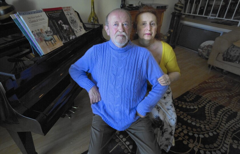 Savely Goreshter and his wife, Stella, were billed $51,649.32 by the DWP.