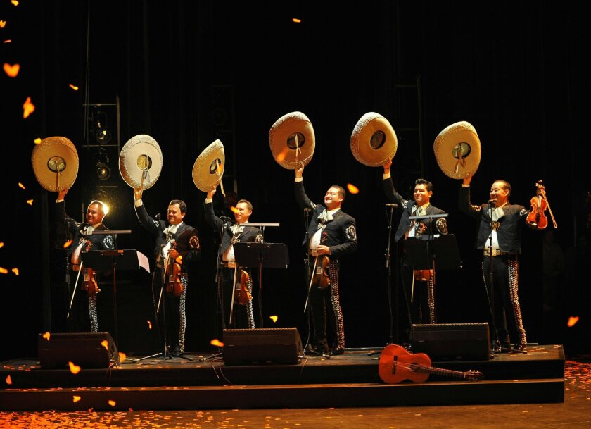 A mariachi opera, 'El Pasado Nunca se Termina' (The Past is Never Finished), is booked for April 25, 2015 at the San Diego Opera.