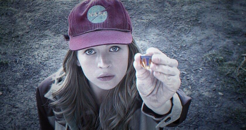 "Britt Robertson in ""Tomorrowland."""
