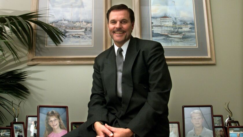 President Trump is planning to nominate California attorney Charles P. Rettig, shown in 2002, to lead the Internal Revenue Service.