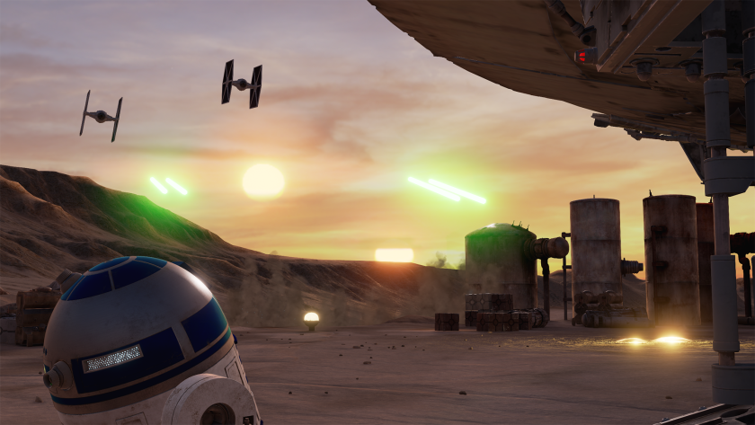 "Lucasfilm's ILMxLAB has created ""Trials on Tatooine,"" a new ""Star Wars"" virtual reality experience set before the events of ""The Force Awakens."""