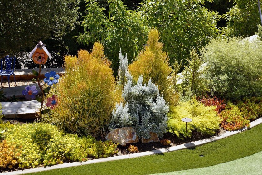 The Water-Wise Home Garden Tour on March 26 features five gardens tended by Water Conservation Garden volunteers.