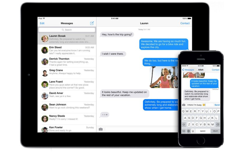 Apple said it would soon issue an update for a bug in iMessage that affects users who want to stop using the iPhone and switch to another smartphone.