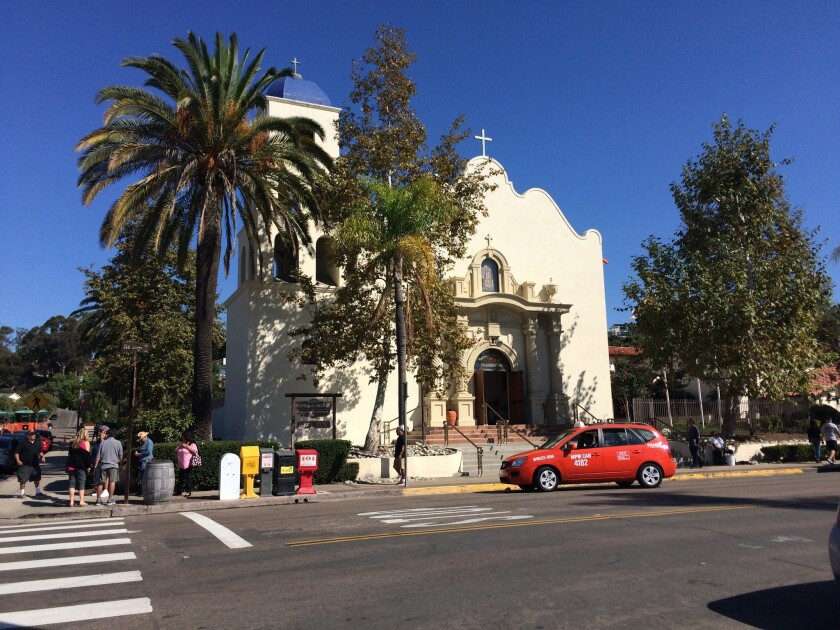 Immaculate Conception Roman Catholic Church in Old Town