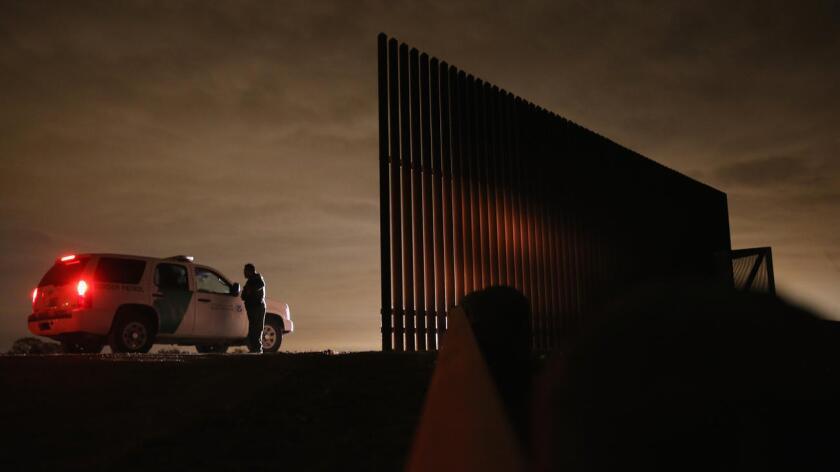 Foto de archivo de la Patrulla Fronteriza en el estado de Texas.