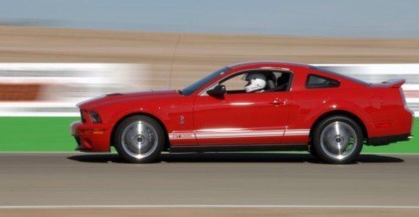 Mustang at Willow Springs