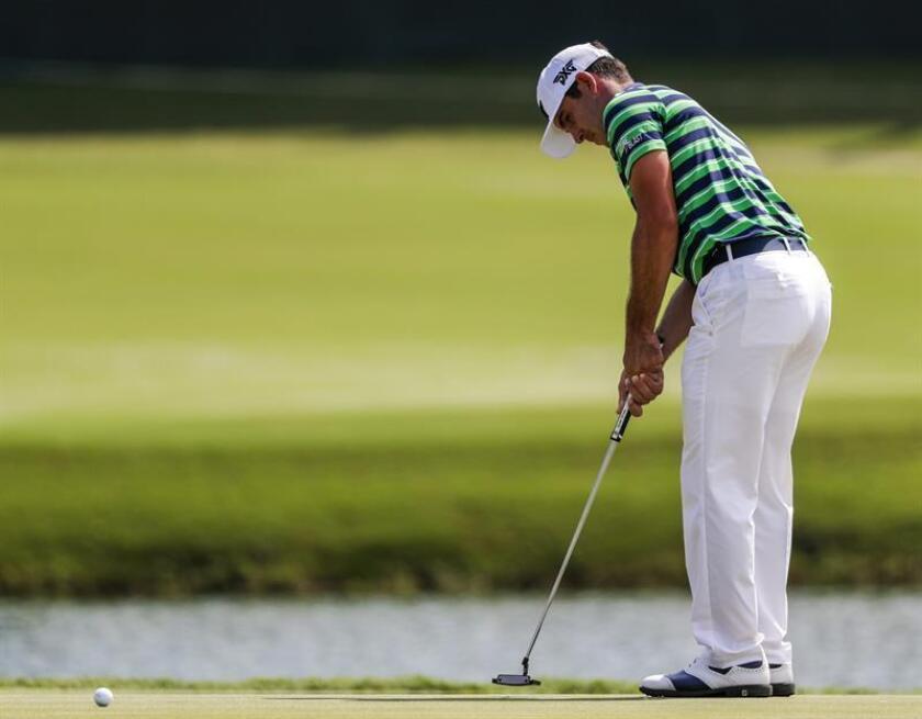 En la imagen, el golfista estadounidense Billy Horschel. EFE/Archivo