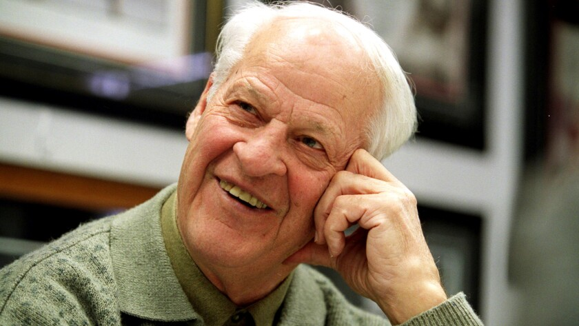 Gordie Howe poses for a portrait March 6, 2003, in his office in Commerce Township, Mich.