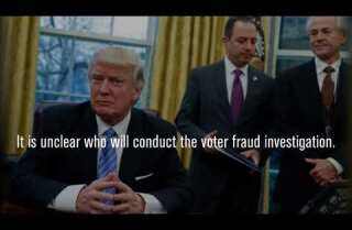 Without evidence, President Trump calls for major voter fraud investigation
