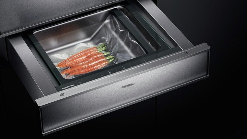 You, too, can be a top chef with Gaggenau's sous-vide friendly drawer. Credit: Gaggenau