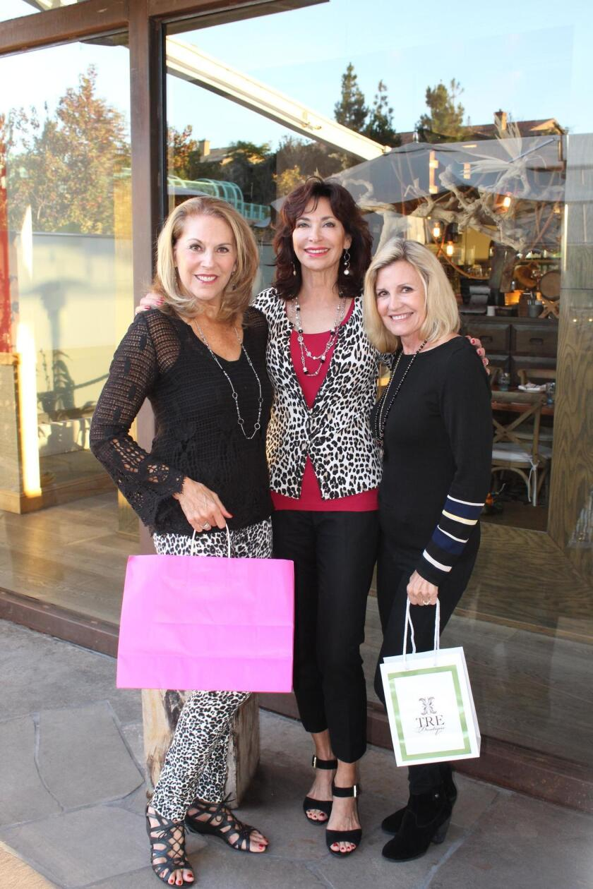 Jan Smith, Holiday Boutique co-chair with Joleen Langston-McGregor and Ginger Wood, co-chairperson.