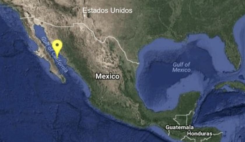 El sismo se registró el viernes 19 de enero, por la mañana, en la costa del Golfo de California.
