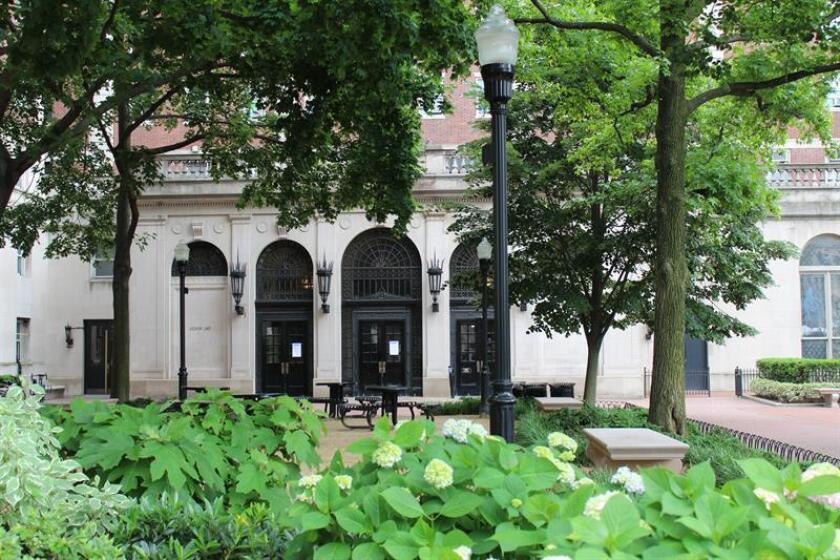 Vista de la residencia de estudiantes de la Universidad de Columbia. EFE/Archivo
