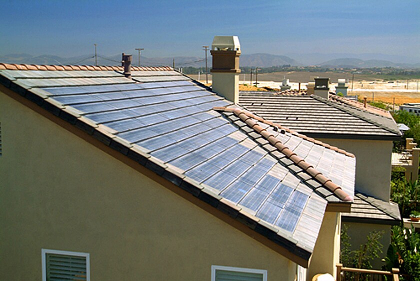SOLAR PANELED ROOFTOPS