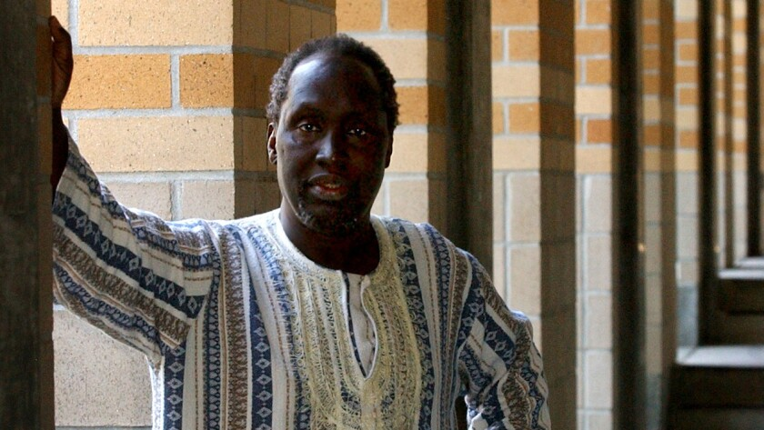 Kenyan writer Ngugi wa Thiong'o is a front-runner in the race for the Nobel Prize for literature.