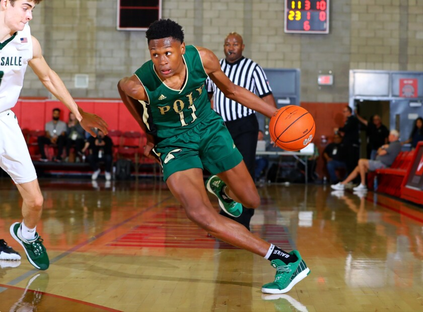 Long Beach Poly's Peyton Watson committed to UCLA on Monday.