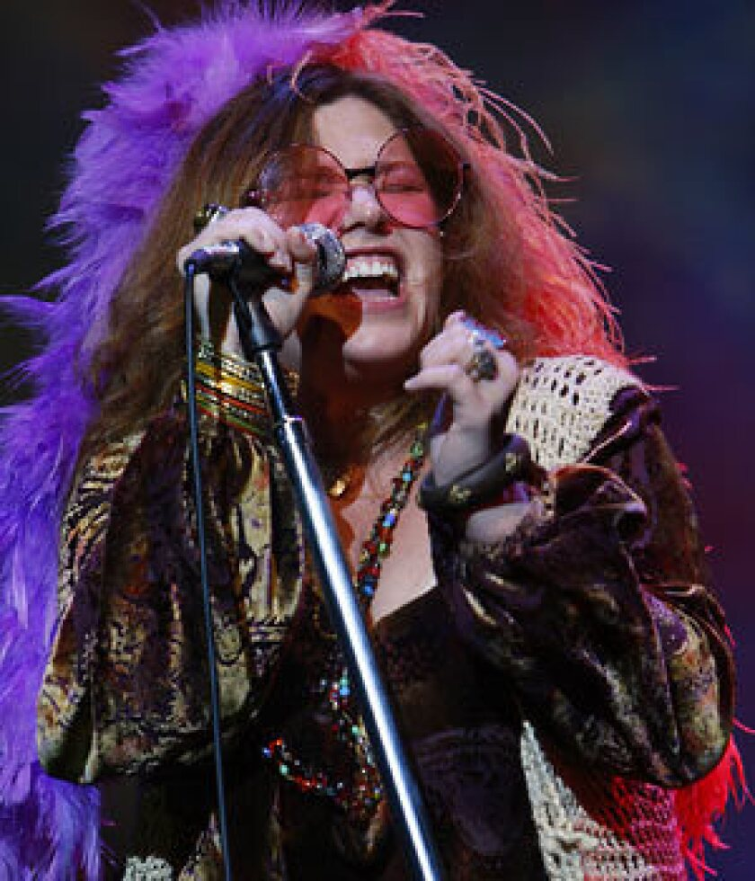 """Mary Bridget Davies in the Alley Theatre Production of the stage play """"Love, Janis."""""""