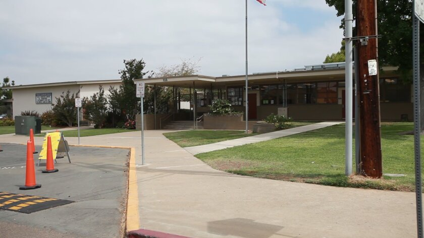 Parents of a student and a former student at Magnolia Elementary School in El Cajon have filed a lawsuit against an aerospace factory next to the school alleging health problems from past dumping of toxic materials into the groundwater.
