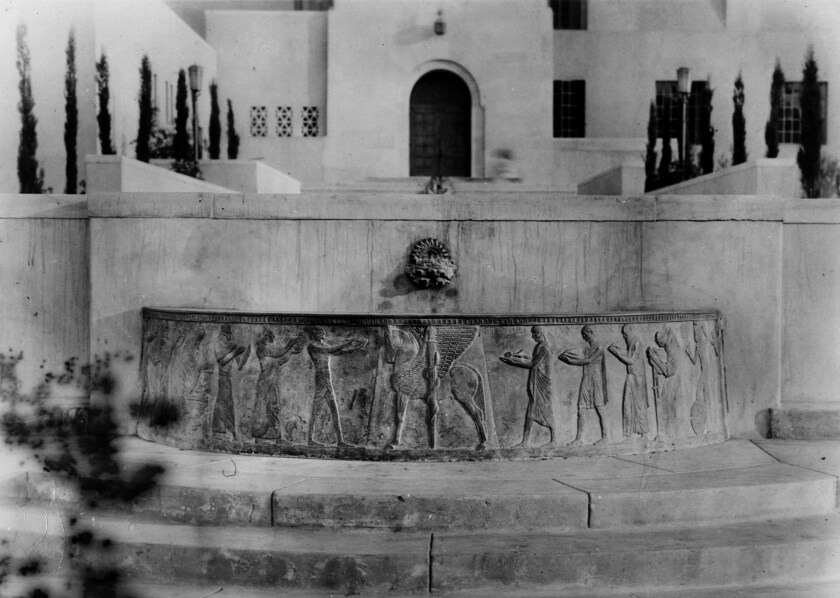 The Well of the Scribes has been missing from Los Angeles Central Library since 1969. A portion of the sculpture has been discovered in Arizona.