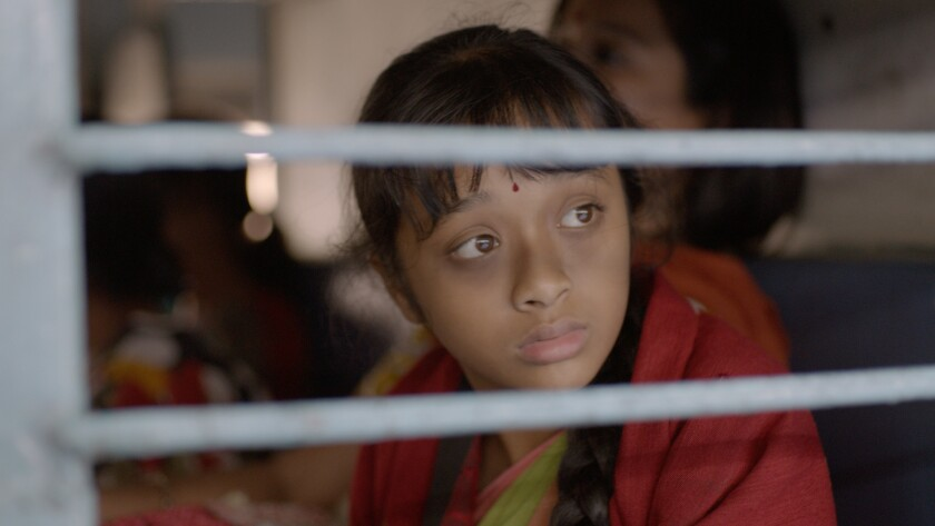 "Niyar Saikia, as Lakshmi in the movie ""Sold."""