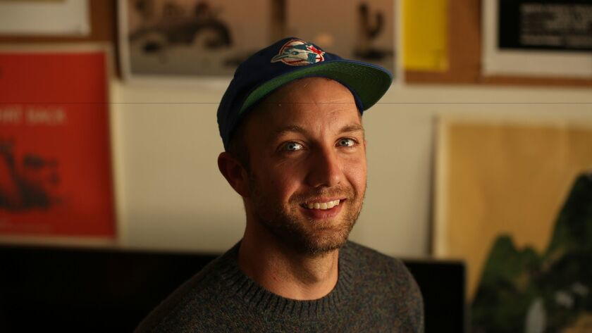 Children's book author and illustrator Jon Klassen