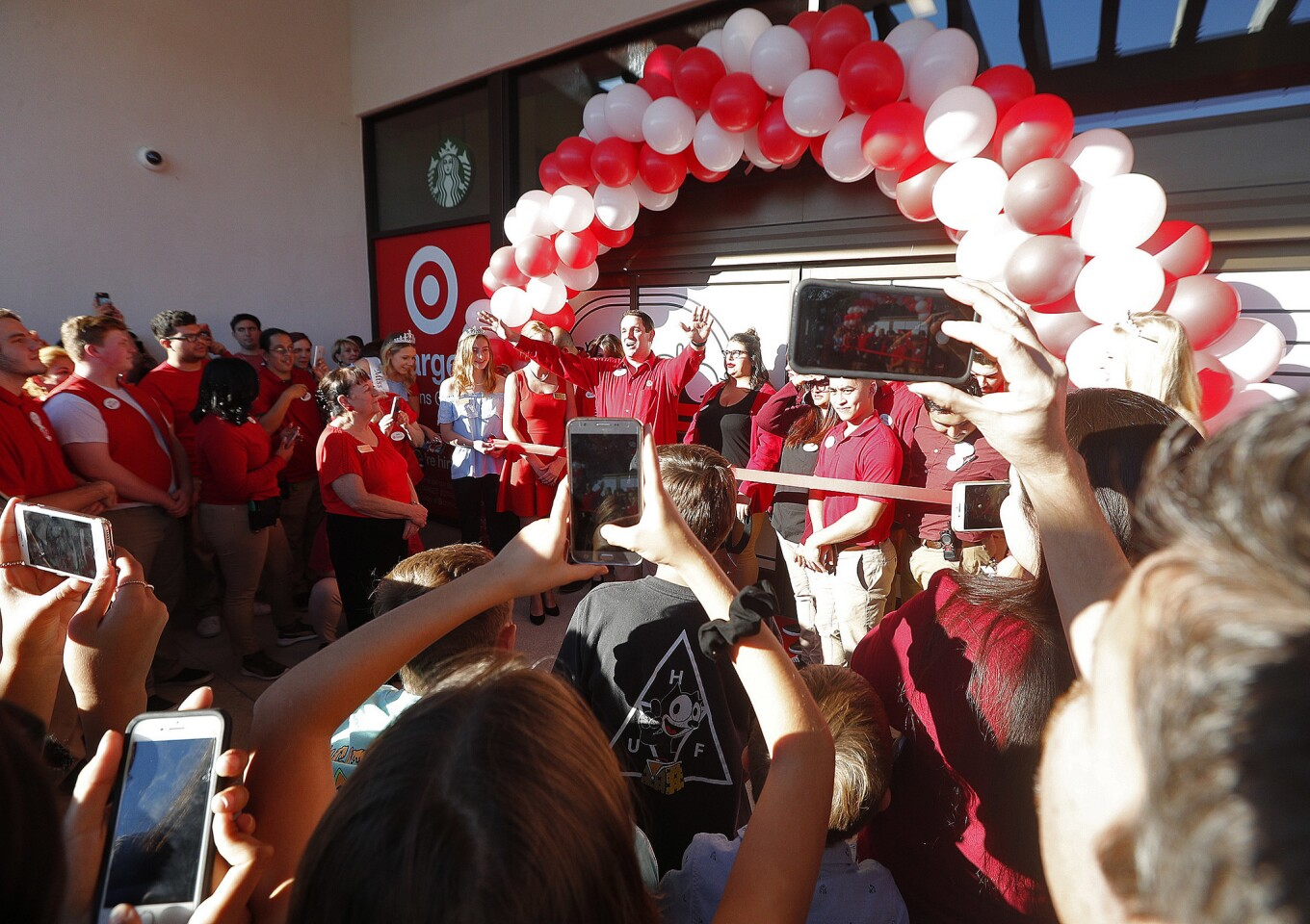 Photo Gallery: Target sneak peek grand opening in La Canada in former Sport Chalet building