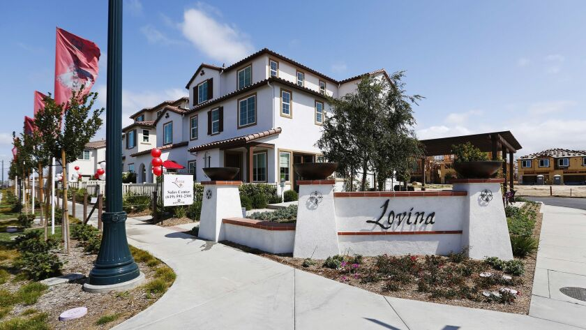 In April, homes for sale in southern San Diego County.
