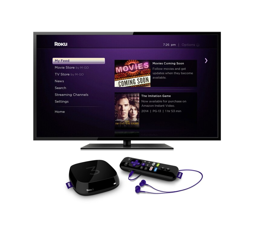 Roku-powered media players and televisions are expected to receive an update this month that includes a feature for tracking the availability and prices of movies recently out of theaters across several streaming services.