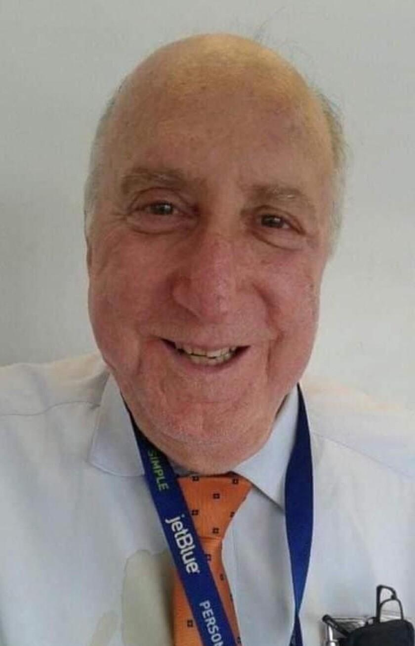 JetBlue flight attendant Ralph Gismondi