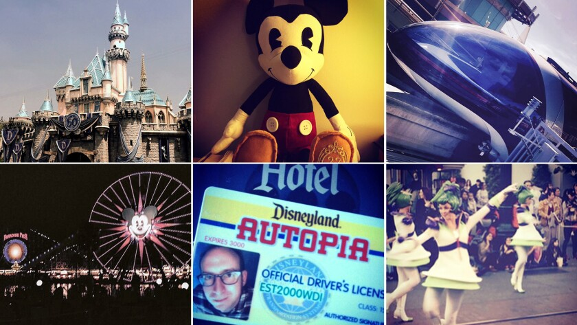 Disneyland is really one of the happiest places to embrace your solitary adventurer, says a single-rider devotee. Here is a collection of his Instagram snaps.