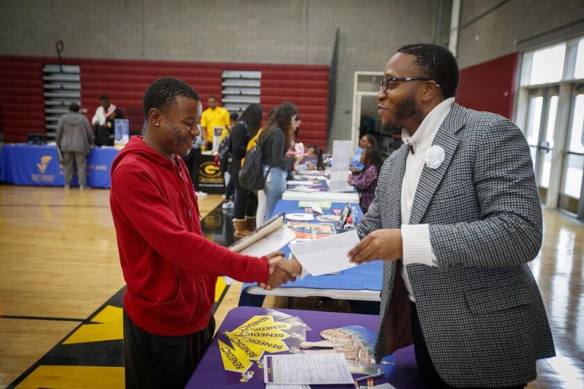 Quen-Taylor Brown offers  Johnathon Vincson, 18, a scholarship of $57,120.