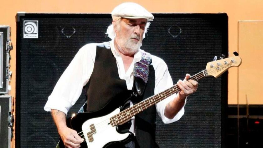 FILE John McVie of Fleetwood Mac Is Diagnosed With Cancer