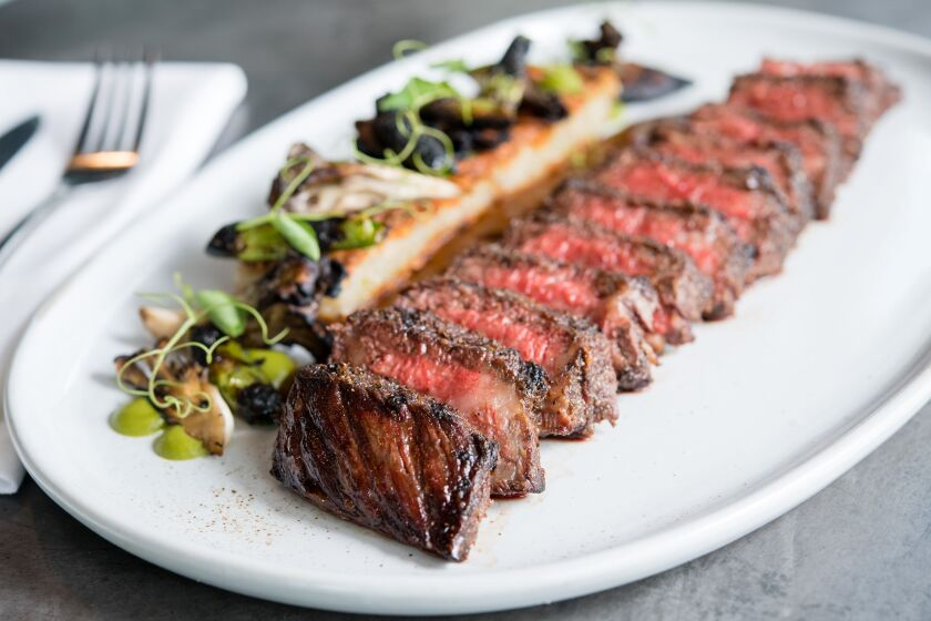 When is a steak not just a steak? When it's prepared on the custom wood-fired grill at Fort Oak.