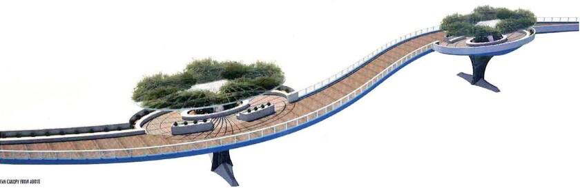 Glendale Narrows bridge design
