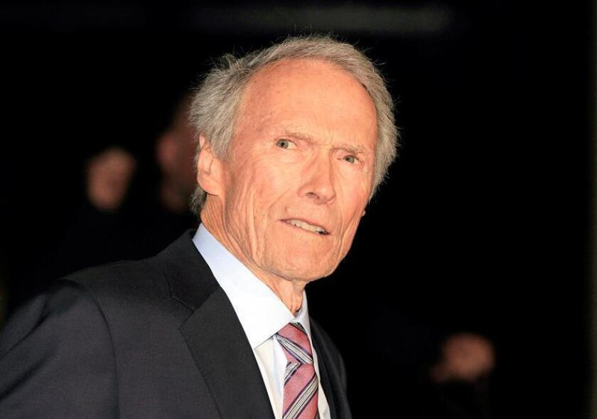 Fotografía del actor y director estadounidense Clint Eastwood. EFE/Archivo