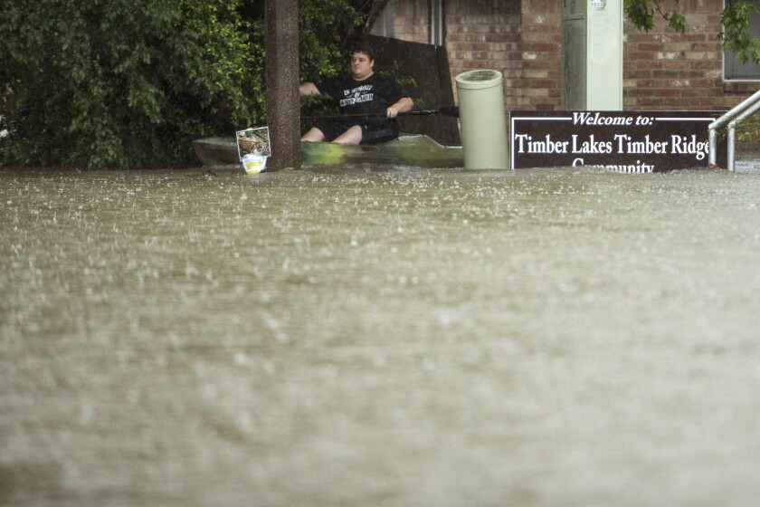 The Woodlands Texas Flooding >> Storm Causes The Worst Flooding Houston Has Seen In 15 Years