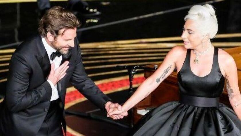 Bradley Cooper and Lady Gaga's performance created a stir at the Oscars.