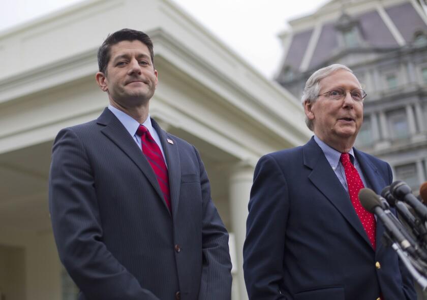 Paul Ryan, Mitch McConnell