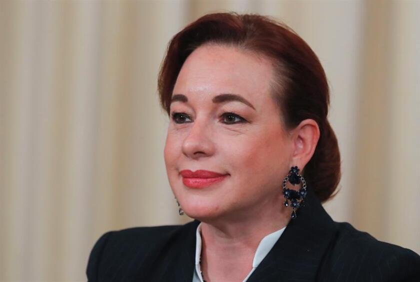 La canciller ecuatoriana, Maria Fernanda Espinosa. EFE/Archivo