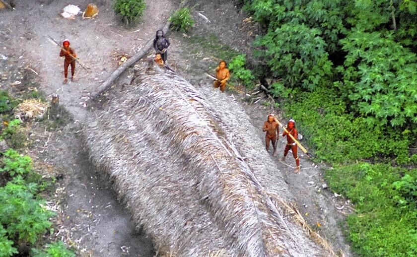 Brazil's indigenous tribe members