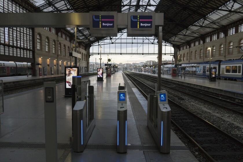 Nationwide strike in France