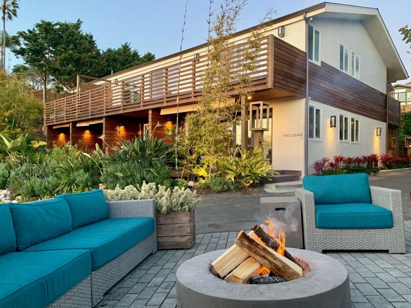 The newly remodeled Inn at Moonlight Beach in Encinitas aims to offer a tranquil experience to guests.