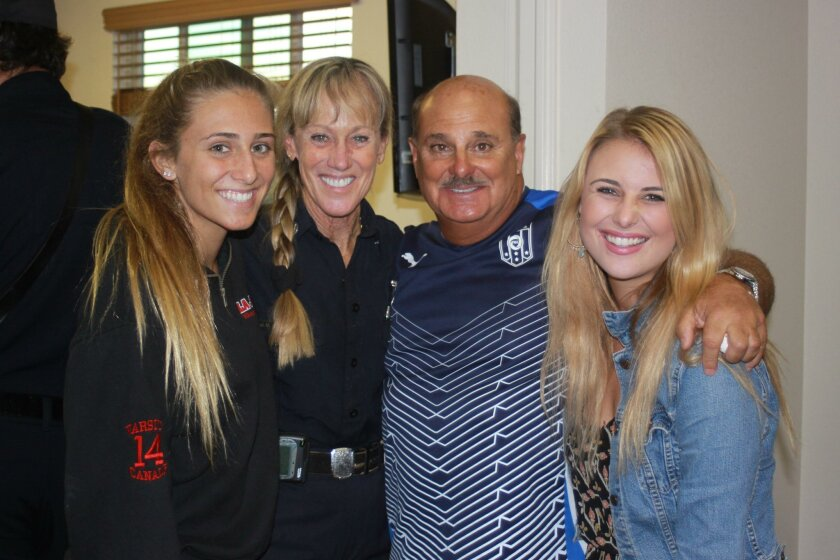 Karli, Michelle, Jimmy and Kori Canale