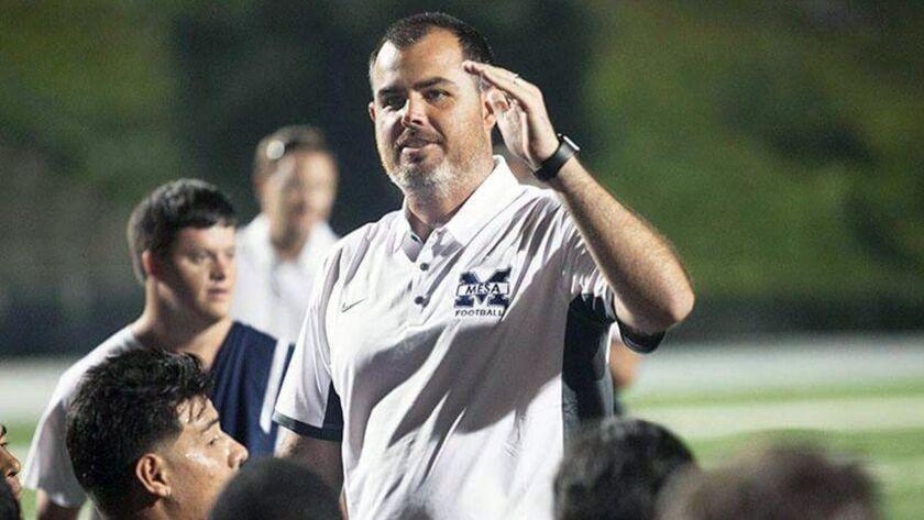 Newport Harbor's new football coach, Peter Lofthouse, (Courtesy of Newport Harbor)