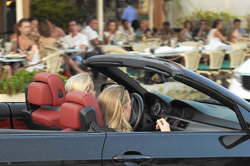 Many convertibles lack protective features that are more common in sedans.