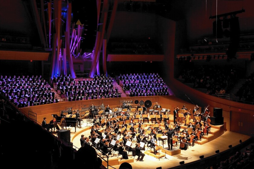 American Youth Symphony and the National Children's Chorus