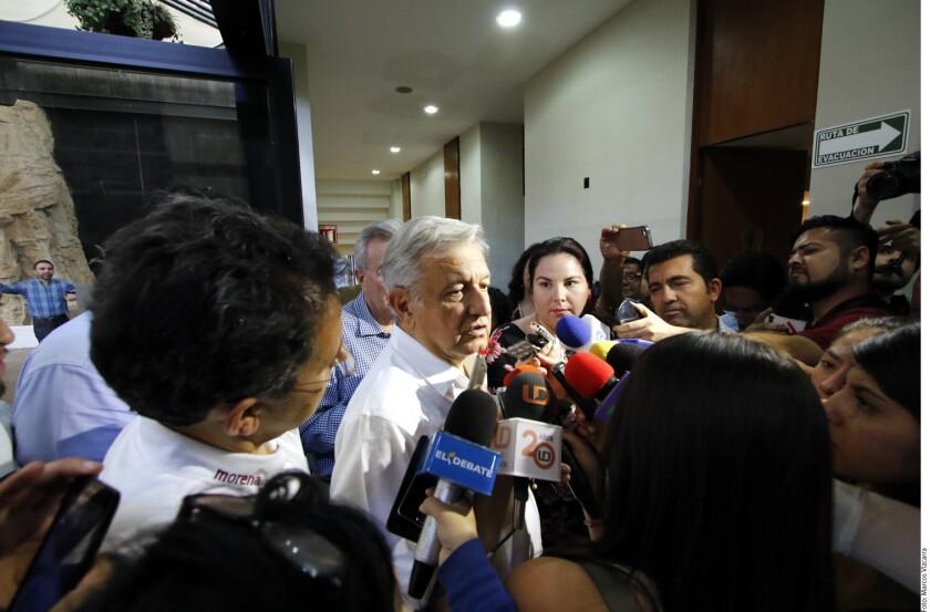 Andrés Manuel López Obrador quiere que organismos internacionales vigilen la elección para evitar un fraude electoral en las elecciones del 1 de julio.